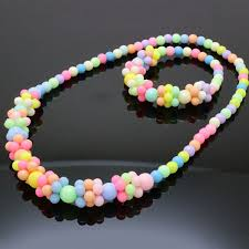 bracelet bead sets images Girls necklace bracelet set jewelry baby bubblegum children jpg