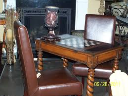 Chess Table With Chairs Table Idea Chess Table With Chairs
