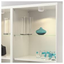 Glass Bathroom Shelving Unit by