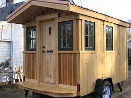 frank u0027s diy micro cabin on wheels interview and tour