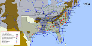 America Map Atlanta by File Map Of American Civil War In 1864 Svg Wikimedia Commons