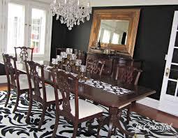 black dining room bold black dining room becolorful