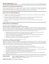 it manager resume exles it manager resume sle business technology executive best it