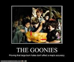 Goonies Meme - goonies map logic by geekywolf on deviantart