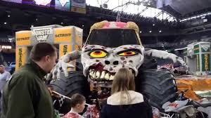 grave digger monster truck costume monster jam detroit pit party youtube
