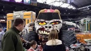 grave digger monster truck costume monster jam detroit pit party youtube