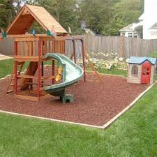 Backyard Ground Cover Ideas Fabulous Backyard Swing Set Ideas Backyard Swing Set Ground Cover
