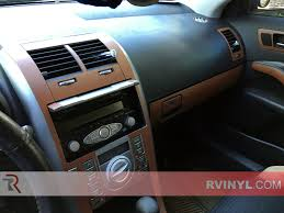 2007 scion tc brown leather dash kit upgrade
