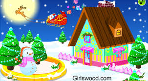 Winter House Decoration Game - winter fashion in new york girlswood com online games for girls
