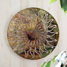 awesome 3d sun face for metal wall art decor tropical popular