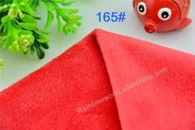 drap canap 165 microfibre minky doux velboa tricot tissu pour coudre