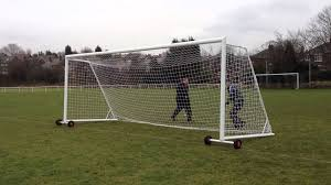 Backyard Football Goal Post Folding Goal Posts From Itsa Goal Youtube