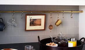 Kitchen Counter Storage Ideas Kitchen Storage Ideas Brass Rod Diy One Kings Lane