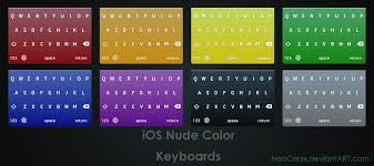 themes color keyboard ios nude color keyboards by dernosada on deviantart