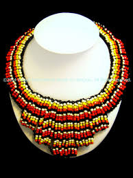 indian beaded necklace images Indian love song beaded necklace thai fashion jewelry JPG