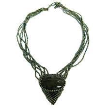 Handcrafted Handmade Semiprecious Gemstone Beaded Handmade