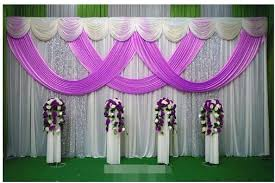 wedding backdrop aliexpress 10ftx22ft swag silver sequin drape wedding backdrop stand wedding