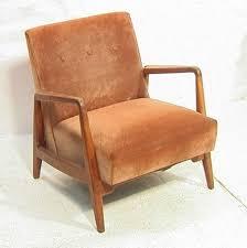 jens risom lounge chair american modern walnut f