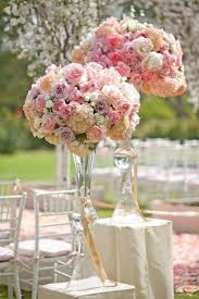 Glass Vase Centerpiece Clear Trumpet Glass Vase Bridal Shower Wedding Vase Centerpiece