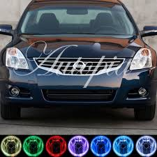 nissan altima coupe kuwait 2007 2010 for nissan altima coupe white halo fog lights lamps