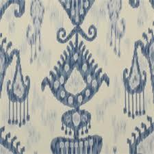 Robert Allen Drapery Fabric Khandar Indigo By Robert Allen Drapery Fabric 12635