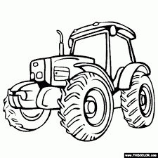 the elegant and also gorgeous coloring pages of tractors to