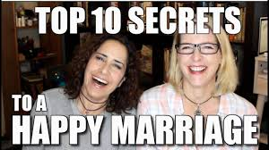 Happy Marriage Meme - top 10 secrets to happy marriage lacie and robin youtube