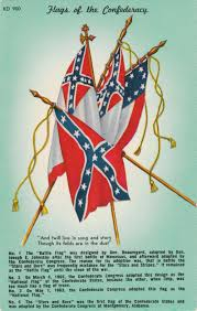 Confederate States Flags Flags Of The Confederacy Postcard Roundup