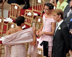 religious wedding prince andrea casiraghi photos photos monaco royal wedding the