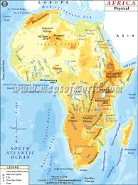 Google Maps Africa by 5 1 I Can Create A Map Of The Major Physical Features In Africa