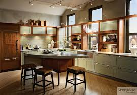 Kraft Maid Kitchen Cabinets Kraftmaid Cherry Cabinetry In Cinnamon U0026 Maple Cabinetry In