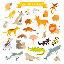 World Map With Continents And Oceans by Animals World Map Australia Vector Illustration Preschool