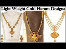 top 10 light weight haram gold jewellery designs