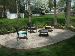 How To Make A Pea Gravel Patio How To Make A Gravel Patio Area Home Design Ideas