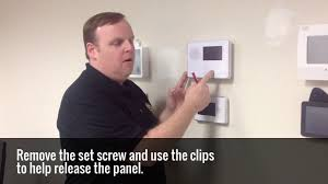 how to change your alarm system battery youtube