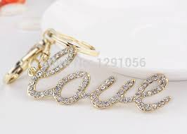 buy 2 pieces new fashion jewelry love key chain letter keychains
