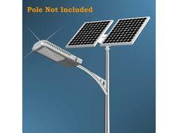 eco worthy 40w solar led light kit 2 100w solar panel w