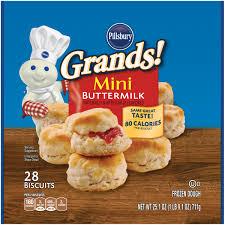 pillsbury grands mini buttermilk biscuits 28 ct pack walmart com