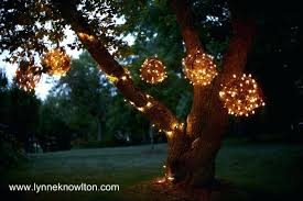 outdoor led spheres grapevine lighting balls what a