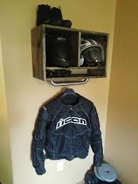cheap motorcycle jackets for men just made some wall storage for my gear nice to have one place