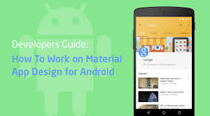 android app design developers guide how to work on material design for android
