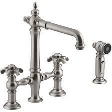 kohler k 76519 3m vs artifacts vibrant stainless steel two handle