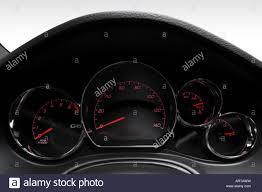 2008 pontiac g6 gt in black speedometer tachometer stock photo