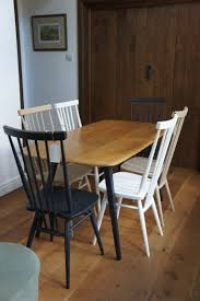 Ercol Dining Table And Chairs Vintage Ercol And Farrow Refurbished Mobiliá