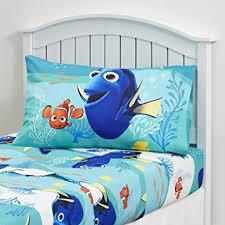 amazon com kids bedding set 3 piece finding dory nemo bed sheet