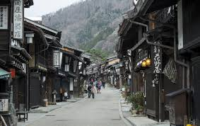 japanese town narai juku japanese heritage post town just in japan