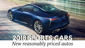 lexus automobiles prices 10 best upcoming sports cars of 2018 model year prices and tech