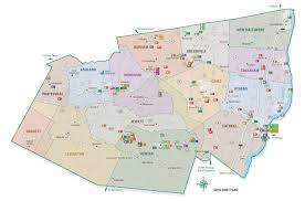New York Counties Map City Park U0026 Street Map Illustration U0026 Design
