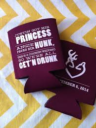 wedding can koozies country wedding koozies 200 count by rookdesignco on etsy 158 00