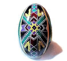 decorated goose eggs egg pysanka ukrainian easter egg batik decorated goose egg